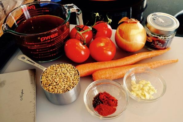 lentil soup - 3